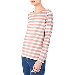 Dash - Simple pink stripe top