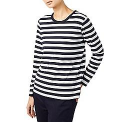 Dash - Simple blue stripe top