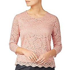 Eastex - Round neck lace top