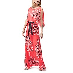 Jacques Vert - Print belted maxi dress