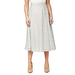 Eastex - Mono texture jersey skirt