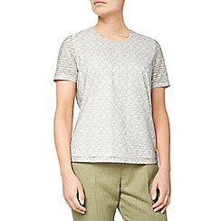 Eastex - Mono texture jersey top