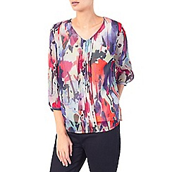 Dash - Watercolour bloom blouse
