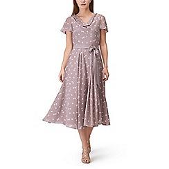 Jacques Vert - Soft spot print dress