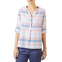Dash - Linen stripe blouse