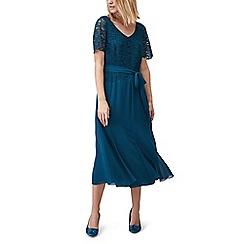 Jacques Vert - Maisie lace and chiffon dress