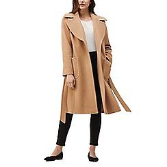 Precis - Eve camel tie coat