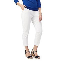 Precis - Petite slim leg print trousers