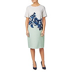 Eastex - Placement print shift dress