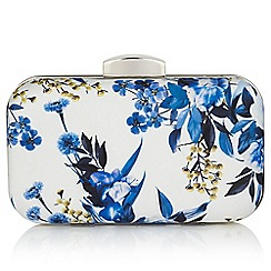 Precis - Whispered botanic clutch bag