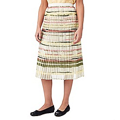 Eastex - Summer stripe soft pleat skirt