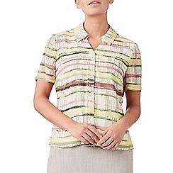 Eastex - Short sleeve stripe blouse