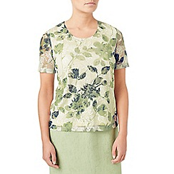 Eastex - Printed lace top