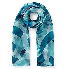 Eastex - Lido navy striped scarf