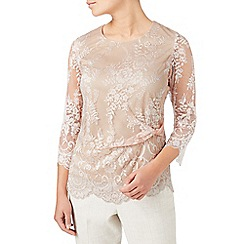 Eastex - Placement lace top