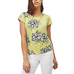 Precis - Drawn floral top