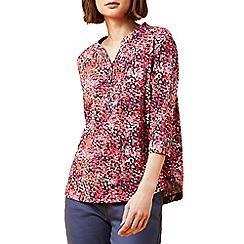 Dash - Tropical garden jersey top