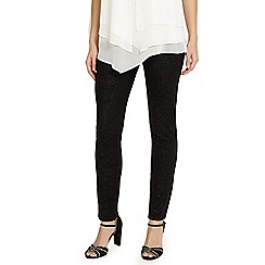 Phase Eight - Black and silver aida sparkle jeans