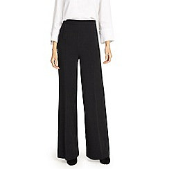 Phase Eight - Black Beatrix wide leg trousers