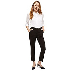 Phase Eight - Black daniela pinstripe trousers