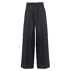 Phase Eight - Lydia stripe wide leg trousers