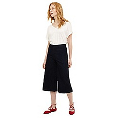 Phase Eight - Blue nora denim culottes