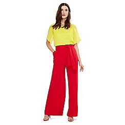 Phase Eight - Pink katie wide leg trousers
