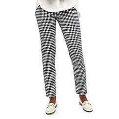Phase Eight - Blue tyna gingham trouser