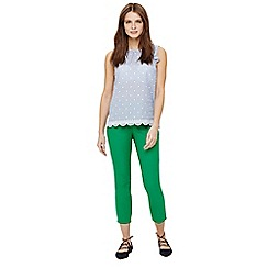Phase Eight - Green isla crop trousers