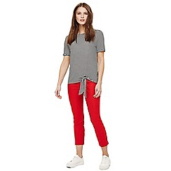 Phase Eight - Red isla crop trousers