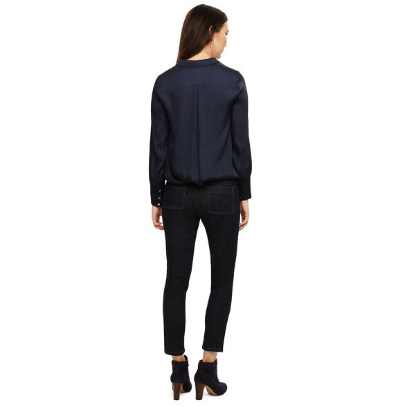 Eight morgan Indigo Phase cross hatch jeans pFPxwaq