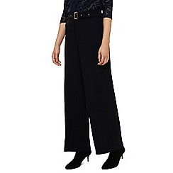 Phase Eight - Blue ramono wide leg trousers