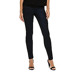 Phase Eight - Cobalt and black elissa glitter jeans