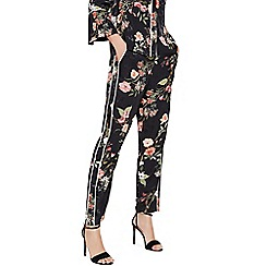 Phase Eight - Black nolana floral trousers