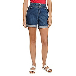 Phase Eight - Blue darenna turn up shorts