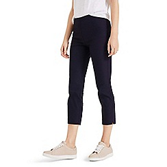 Phase Eight - Blue hatty crop trousers