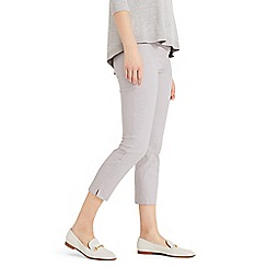 Phase Eight - Grey Hatty Crop Trousers