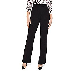 Damsel in a dress - Black Isabella Tapered City Suit Trousers