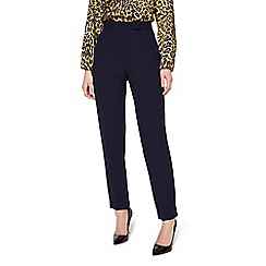 Damsel in a dress - Navy Isabella Tapered City Suit Trousers