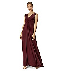 Phase Eight - Berry arabella maxi dress