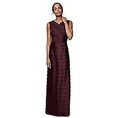 Phase Eight - Merlot hermione layered dress