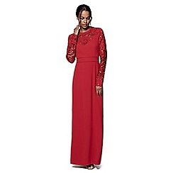 Phase Eight - Scarlet minda cutwork dress