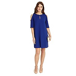 Phase Eight - Blue Jilly cold shoulder dress