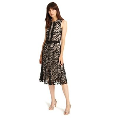 Phase Eight   Powder And Black Lucinda Lace Dress by Phase Eight