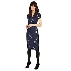 Phase Eight - Slate megan leaf print dress