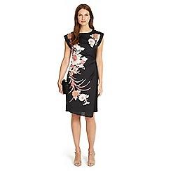 Phase Eight - Oriental print dress