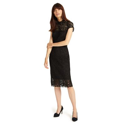 Phase Eight   Black Becky Lace Dress by Phase Eight