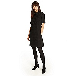 Phase Eight - Black leoni bonded lace dress