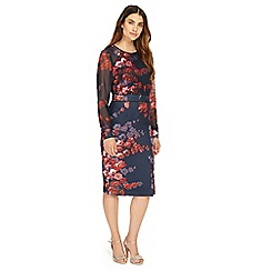 Phase Eight - Midnight Callie woven floral dress