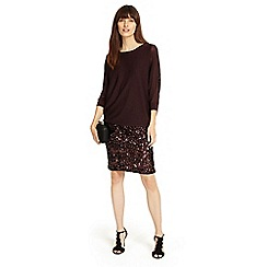 Phase Eight - Geonna sequin knit dress